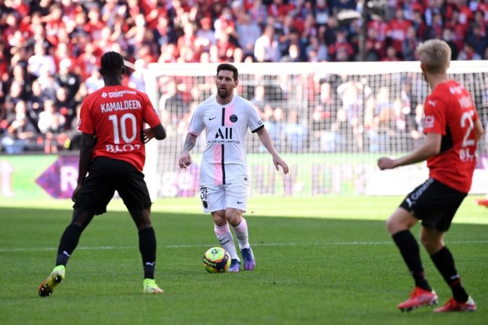 PSG - Ligue 1 - Messi vs Rennais